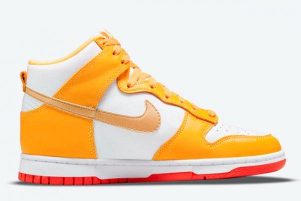 Latest Nike Dunk High Laser Orange 2021 For Sale DQ4691-700-1