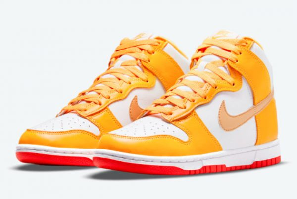 Latest Nike Dunk High Laser Orange 2021 For Sale DQ4691-700-2