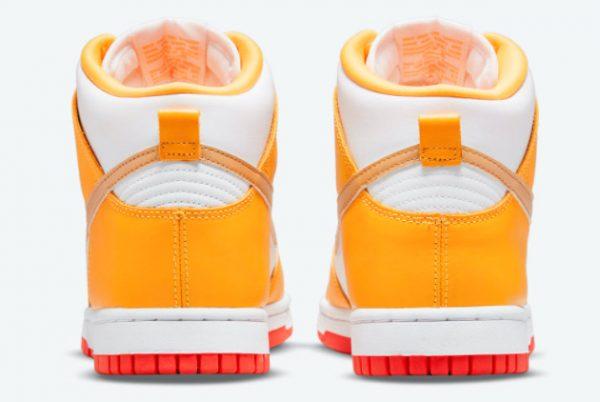 Latest Nike Dunk High Laser Orange 2021 For Sale DQ4691-700-3