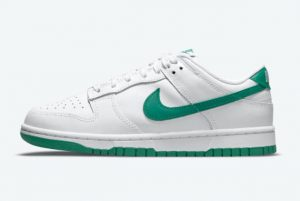 Latest Nike Dunk Low White Green 2021 For Sale DD1503-112
