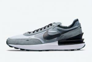 Latest Nike Waffle One Grey Black 2021 For Sale DD8014-002