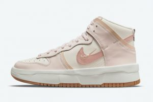 Latest Nike Wmns Dunk High Rebel Pink Oxford Sail Pink Oxford-Light Soft Pink 2021 For Sale DH3718-102