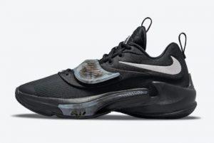 Latest Nike Zoom Freak 3 Black Grey 2021 For Sale DA0694-002