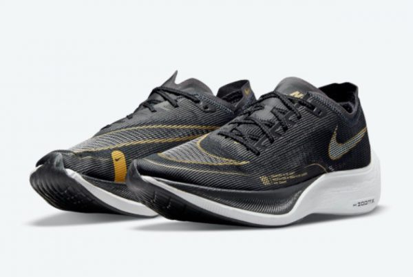 Latest Nike ZoomX VaporFly NEXT% 2 Black Gold 2021 For Sale CU4111-001-1