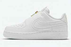 Latest Serena Williams x Nike Air Force 1 LXX Zip Summit White 2021 For Sale DM5036-100