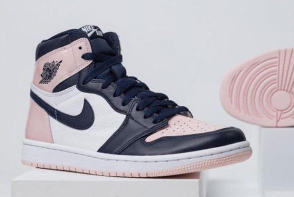 New Air Jordan 1 High OG Bubble Gum Atmosphere White-Laser Pink-Obsidian 2021 For Sale DD9335-641-2