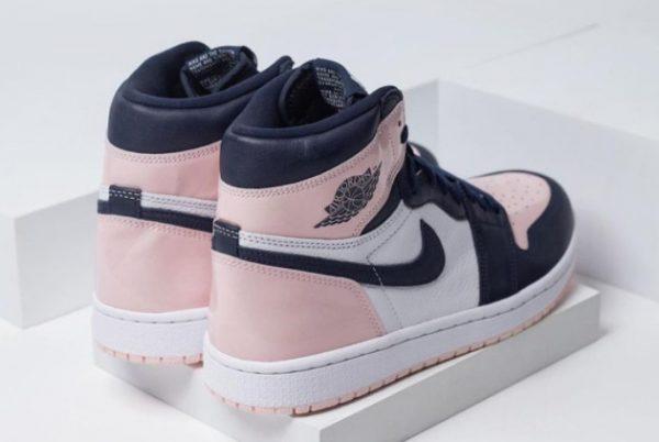 New Air Jordan 1 High OG Bubble Gum Atmosphere White-Laser Pink-Obsidian 2021 For Sale DD9335-641-4