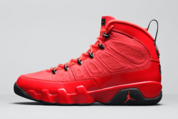 New Air Jordan 9 Chile Red Chile Red Black 2021 For Sale CT8019-600