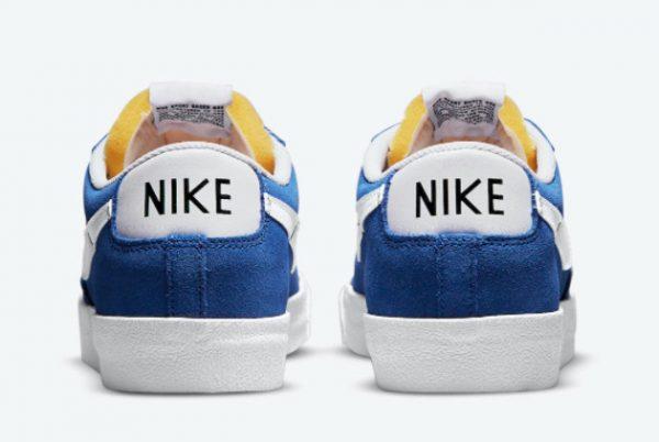 New Nike Blazer Low Team Blue Team Blue White 2021 For Sale DA7254-401-3