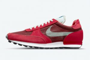 New Nike Daybreak Type Team Red Team Red University Red-Lobster-White 2021 For Sale CJ1156-601