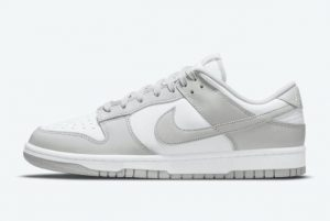 New Nike Dunk Low White Grey Fog 2021 For Sale DD1391-103