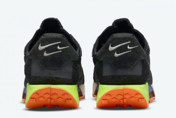 New Nike Fontanka Waffle Black/Black-Volt-Anthracite 2021 For Sale DC3579-001-3