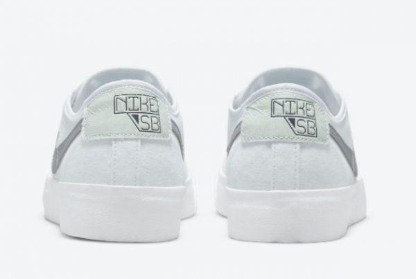 New Nike SB BLZR Court DVDL White/White-Barely Green-Wolf Grey 2021 For Sale CZ5605-100-2