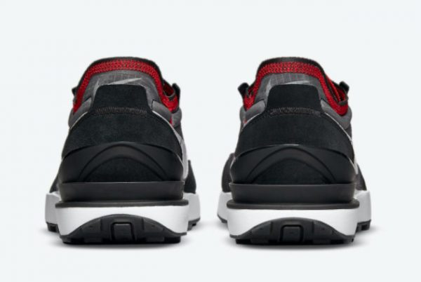 New Nike Waffle One Bred Black Red White 2021 For Sale DD8014-001-2