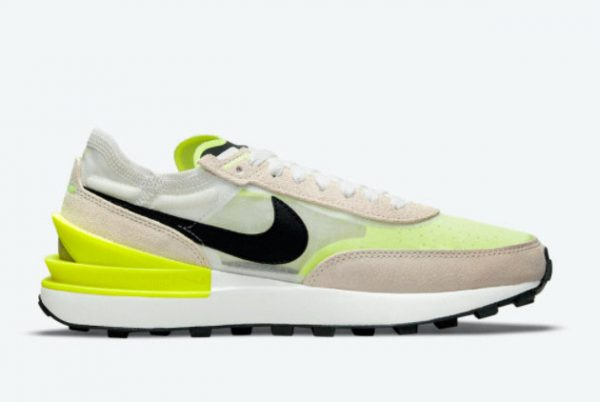 New Nike Waffle One Summit White/Black-Rattan-Volt 2021 For Sale DN4696-101-1