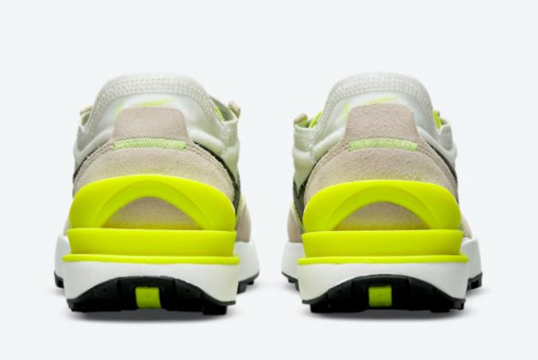 New Nike Waffle One Summit White/Black-Rattan-Volt 2021 For Sale DN4696-101-2