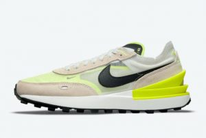 New Nike Waffle One Summit White/Black-Rattan-Volt 2021 For Sale DN4696-101