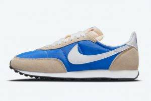 New Nike Waffle Trainer 2 Hyper Royal Hyper Royal White-Rattan-Sail 2021 For Sale DH1349-400