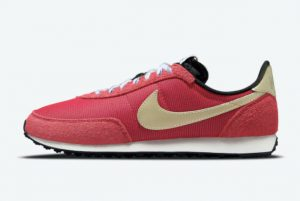 New Nike Waffle Trainer 2 K2 Gym Red Metallic Gold Star-Hyper Royal-Black 2021 For Sale DC8865-600