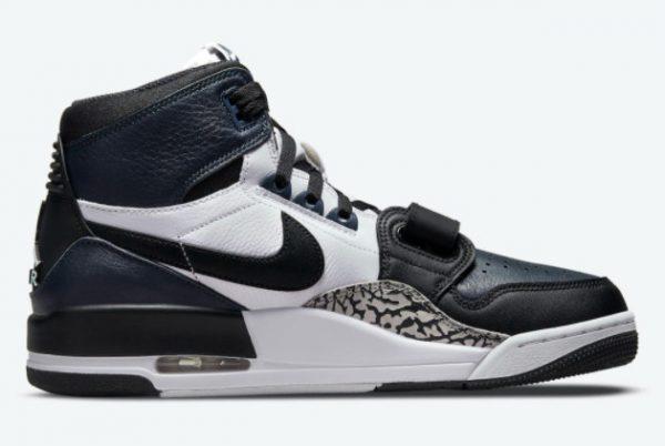 Cheap Jordan Legacy 312 Midnight Navy Black-White 2021 For Sale DO7441-401-2