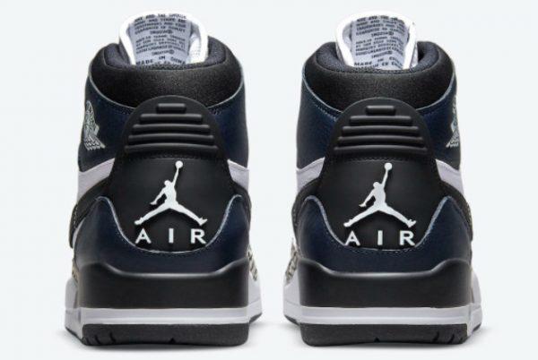 Cheap Jordan Legacy 312 Midnight Navy Black-White 2021 For Sale DO7441-401-3