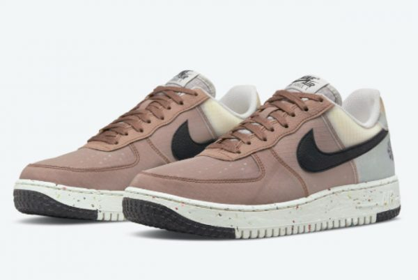 Cheap Nike Air Force 1 Crater Move To Zero Brown 2021 For Sale DH2521-200-1