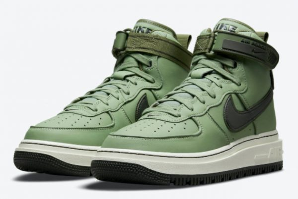 Cheap Nike Air Force 1 High Boot Military Green 2021 For Sale DA0418-300-1