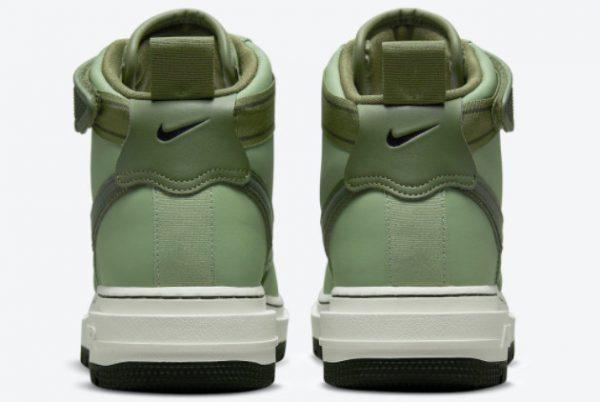 Cheap Nike Air Force 1 High Boot Military Green 2021 For Sale DA0418-300-2