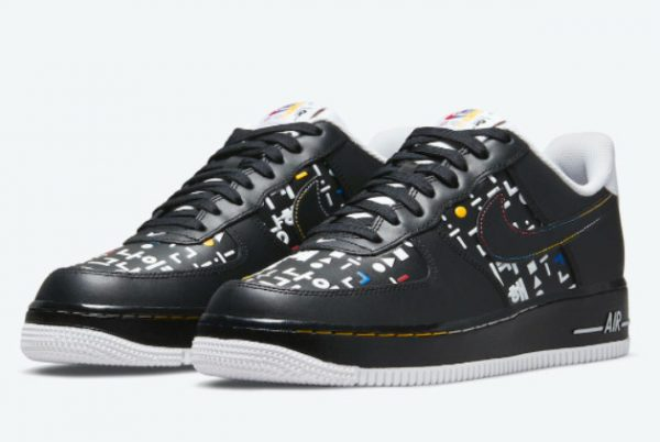 Cheap Nike Air Force 1 Low Hangeul Day 2021 For Sale DO2704-010-1