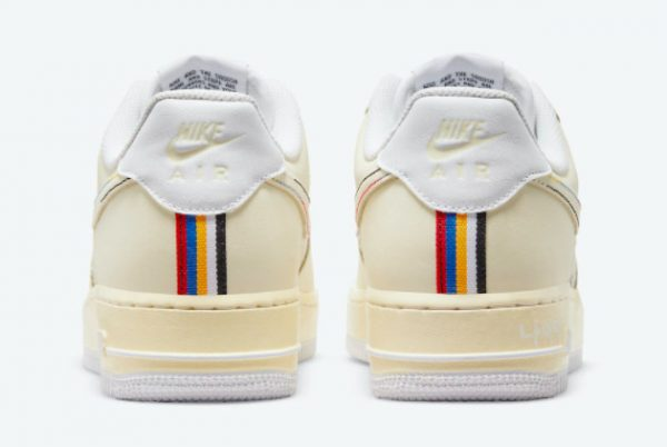 Cheap Nike Air Force 1 Low Hangeul Day Cream White 2021 For Sale DO2701-715-2
