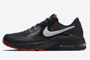 Cheap Nike Air Max Excee Bred Reflective Black Sport Red-Metallic Silver 2021 For Sale DM0832-001