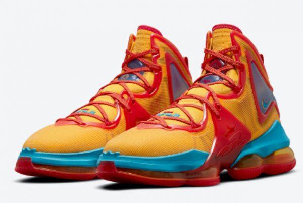 Cheap Nike LeBron 19 Tune Squad 2021 For Sale DC9338-800-2
