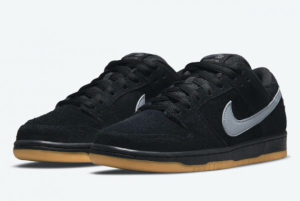 Cheap Nike SB Dunk Low Fog Black Black-Black-Cool Grey 2021 For Sale BQ6817-010-2