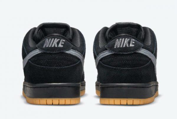 Cheap Nike SB Dunk Low Fog Black Black-Black-Cool Grey 2021 For Sale BQ6817-010-3