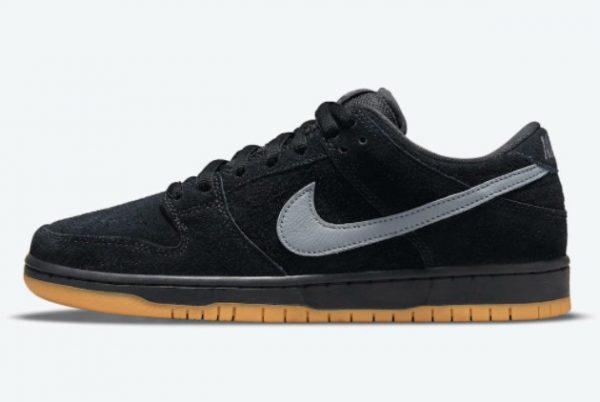 Cheap Nike SB Dunk Low Fog Black Black-Black-Cool Grey 2021 For Sale BQ6817-010