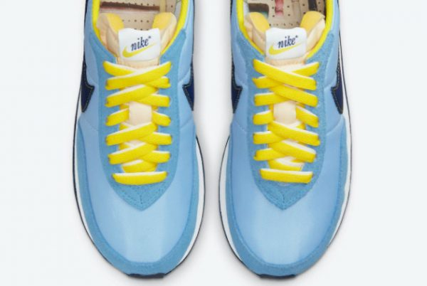 Cheap Nike Waffle Trainer 2 Psychic Blue Yellow Strike-Sail-Blue Void 2021 For Sale DM8323-400-2