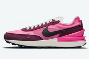 Cheap Nike Women Waffle One Bright Pink Burgundy 2021 For Sale DQ0855-600