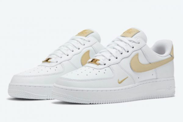 Latest Nike Air Force 1 '07 Essential White Rattan 2021 For Sale CZ0270-105-1
