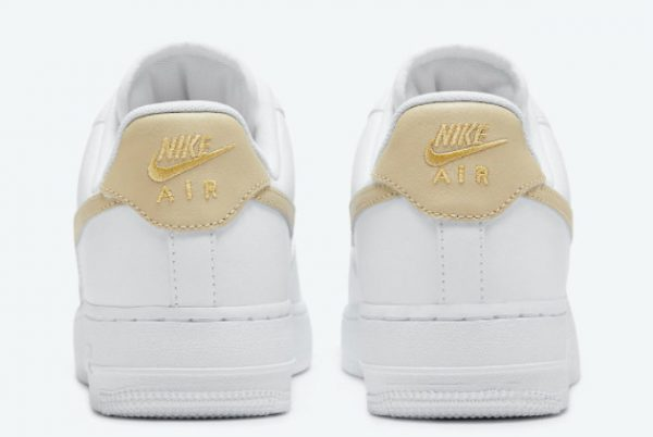 Latest Nike Air Force 1 '07 Essential White Rattan 2021 For Sale CZ0270-105-2