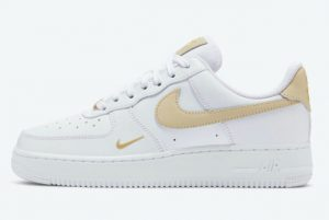Latest Nike Air Force 1 '07 Essential White Rattan 2021 For Sale CZ0270-105