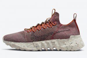 Latest Nike Space Hippie 01 Redstone Redstone Sequoia-Black-Desert Orange 2021 For Sale DJ3056-600