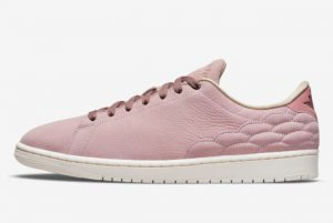 New Air Jordan 1 Centre Court Wmns Pink Oxford Pink Oxford Dark Pony 2021 For Sale DO7444-621