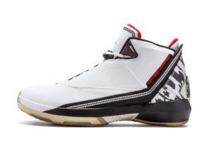 New Air Jordan 22 White Varsity Red-Black 2021 For Sale 315299-161